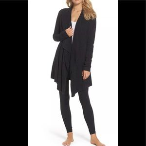 Barefoot dreams bamboo chic lite cardigan s/m